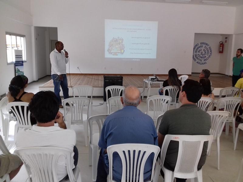 2d9fd2a01f AGERH - Bacia do Santa Joana participa de Ciclo de Debates do PERH